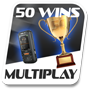 50 multiplayer wins